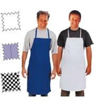 Εικόνα της Ποδιά πάνινη μπροστέλα «πίτσα-ελιές» με τσέπη