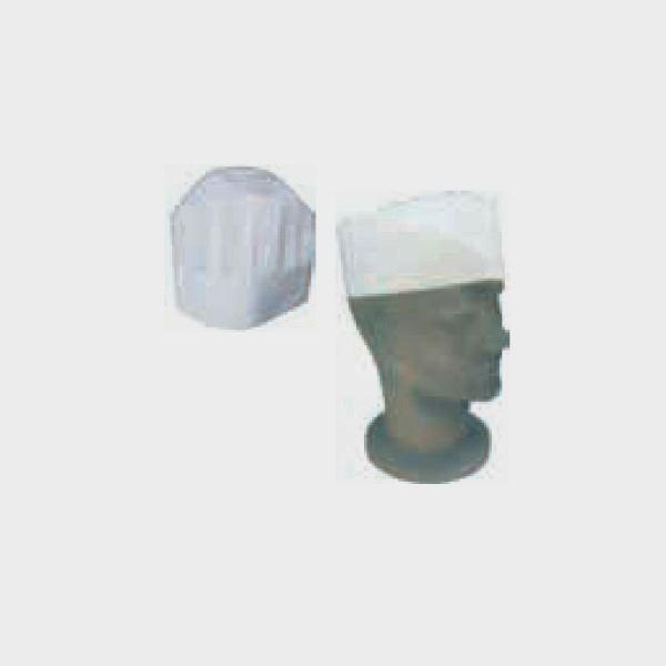 Εικόνα της Καπέλο μάγειρα πάνινο 5 τεμ.