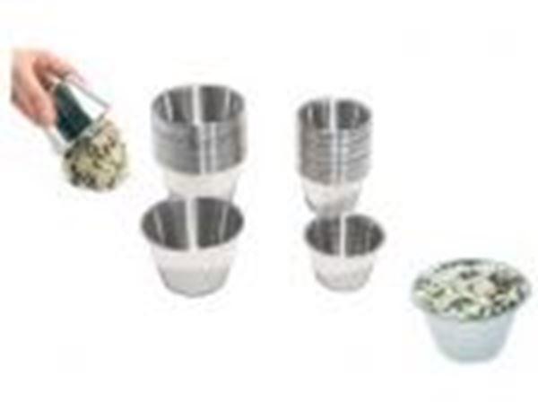 Εικόνα της Φόρμα κρέμας καραμελέ inox 75 ml - 2,5 oz