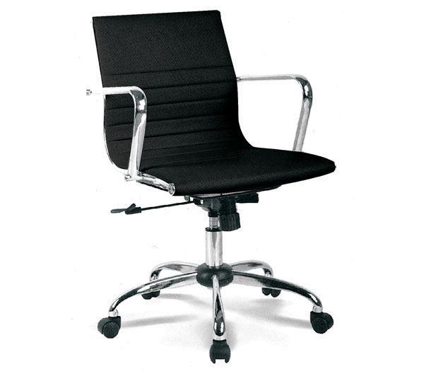 Εικόνα της Πολυθρόνα Γραφείου BF4501, Μαύρο