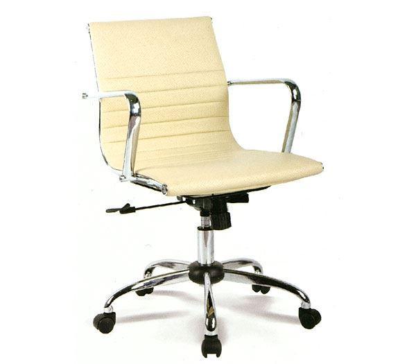 Εικόνα της Πολυθρόνα Γραφείου BF4501, Κρεμ