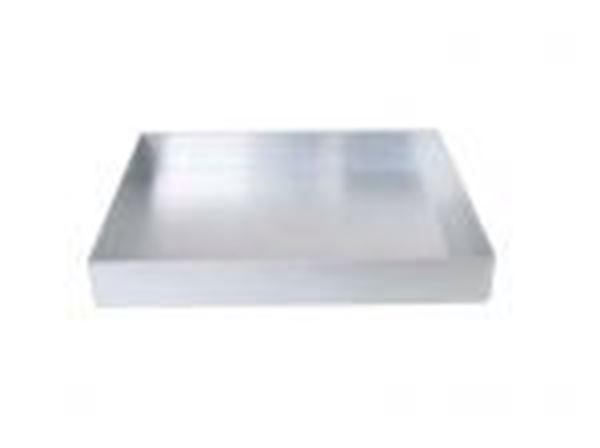 Εικόνα της Ταψί αλουμινίου ζαχαροπλαστείου 50x30x4 cm