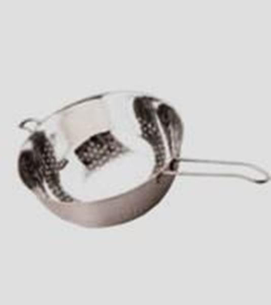 Εικόνα της Σουρωτήρι inox με χέρι ∅ 22 cm