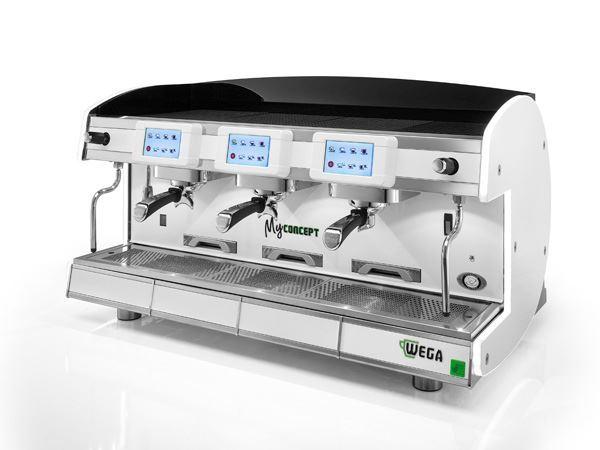 Εικόνα της Μηχανή Espresso Αυτόματη Δοσομετρική 2 Group MyConcept evd/2 Total Color WEGA