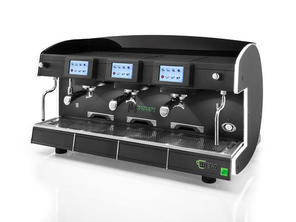 Εικόνα της Μηχανή Espresso Αυτόματη Δοσομετρική 4 Group MyConcept evd/4 Total Color WEGA