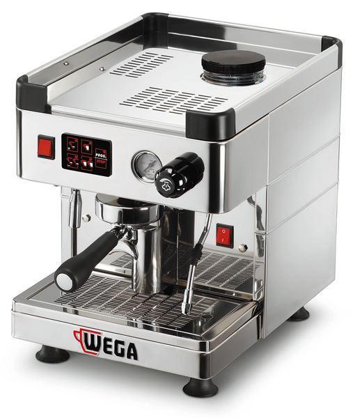 Εικόνα της Μηχανή Espresso Αυτόματη Δοσομετρική  1 Group Mininova INOX evd pr WEGA