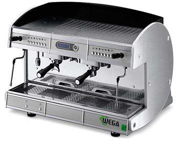Εικόνα της Μηχανή Espresso Αυτόματη Δοσομετρική  2 Group Concept EVD/2 WEGA