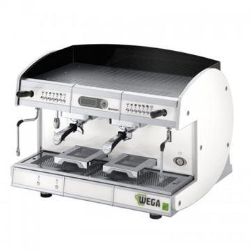 Εικόνα της Μηχανή Espresso Αυτόματη Δοσομετρική  2 Group Concept EVD/2 Total Color WEGA