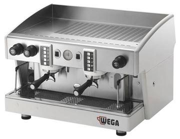 Εικόνα της Μηχανή Espresso Αυτόματη Δοσομετρική  2 Group Atlas W01 Comp  EVD/2 WEGA