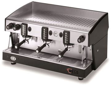 Εικόνα της Μηχανή Espresso Αυτόματη Δοσομετρική  3 Group Atlas W01 EVD/3 WEGA