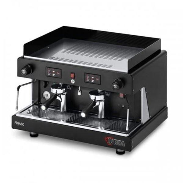 Εικόνα της Μηχανή Espresso Αυτόματη Δοσομετρική  2 Group Pegaso Opaque EVD/2 WEGA