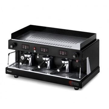 Εικόνα της Μηχανή Espresso Αυτόματη Δοσομετρική  3 Group Pegaso Opaque EVD/3 WEGA
