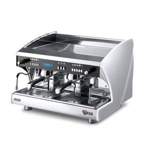 Εικόνα της Μηχανή Espresso Αυτόματη Δοσομετρική  2 Group Polaris EVD/2 + SPIW-D WEGA