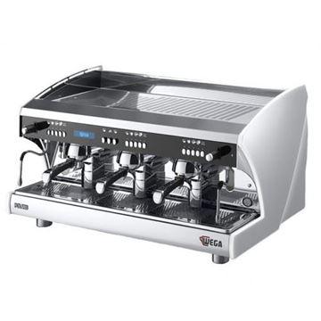 Εικόνα της Μηχανή Espresso Αυτόματη Δοσομετρική  3 Group Polaris EVD/3 + SPIW-D WEGA