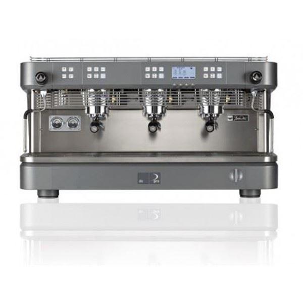 Εικόνα της Μηχανή Espresso Αυτόματη Δοσομετρική 3 Group DC PRO3 Total Color DALLA CORTE