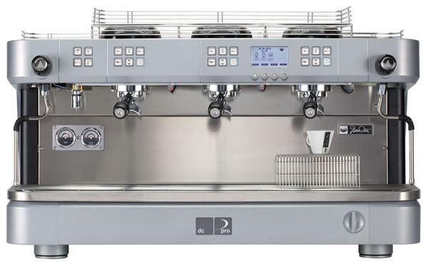 Εικόνα της Μηχανή Espresso Αυτόματη Δοσομετρική 3 Group DC PRO 3 High  Total Color DALLA CORTE