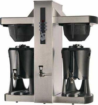Εικόνα της Μηχανή Καφέ Φίλτρου Θερμός μεγάλων παραγωγικών δυνατοτήτων, Tower  COFFEE QUEEN
