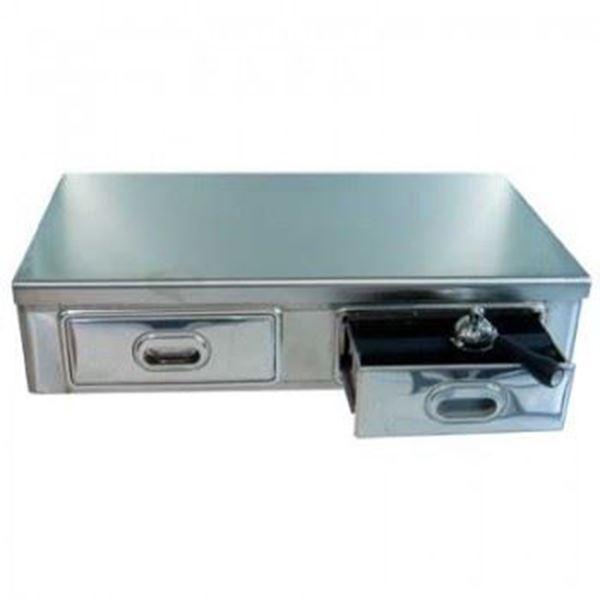 Εικόνα της Συρταριέρα Inox 2 DR, BELOGIA