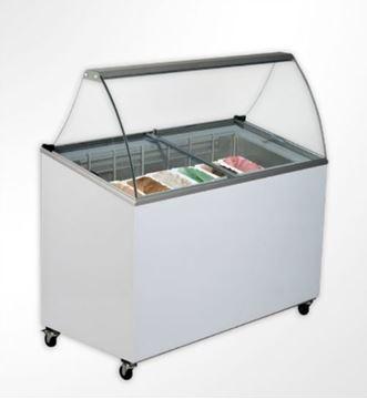 Εικόνα της Βιτρίνα παγωτού UGUR για 7 λεκανάκια