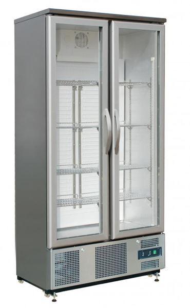Εικόνα της Ψυγείο Βιτρίνα Συντήρηση Διπλή 2 πόρτες, με φυσική Κυκλοφορία Ψύξης