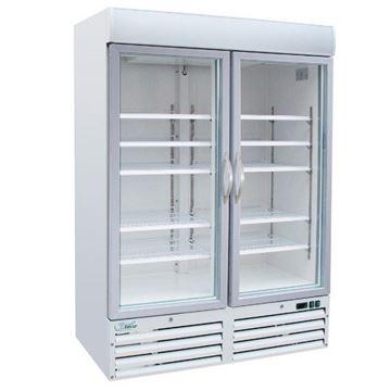 Εικόνα της Ψυγείο Βιτρίνα Κατάψυξη Διπλή, 136 cm 930 lt