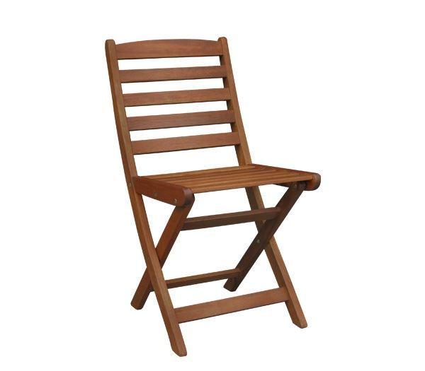 Εικόνα της Καρέκλα Πτυσσόμενη Ξύλινη, SIDE συσκευασία 2 τεμαχίων