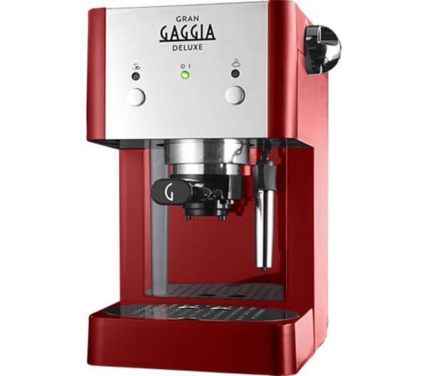 Εικόνα της Παραδοσιακή μηχανή καφέ Espresso Gran Gaggia Deluxe Red LSB, GAGGIA