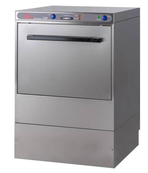 Εικόνα της Πλυντήριο Πιάτων- Ποτηριών VERGINA 50 ALFA καλάθι 50x50
