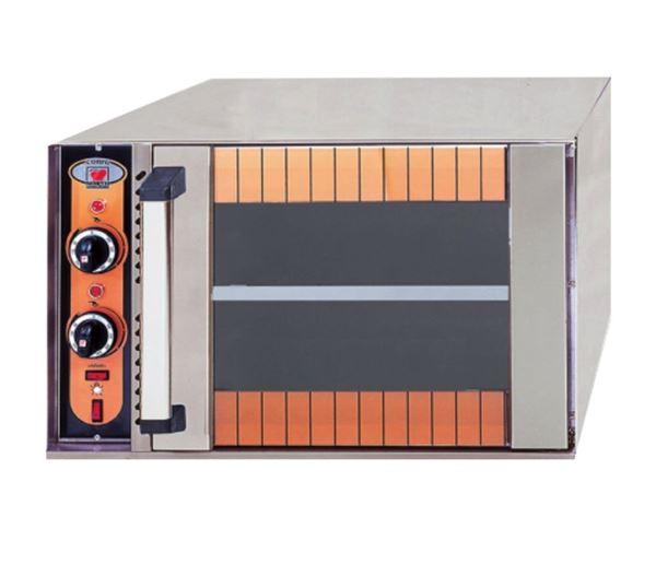 Εικόνα της Φούρνος Ηλεκτρικός Corfu, με 1 ράφι για 2 λαμαρίνες 60x40 cm, North