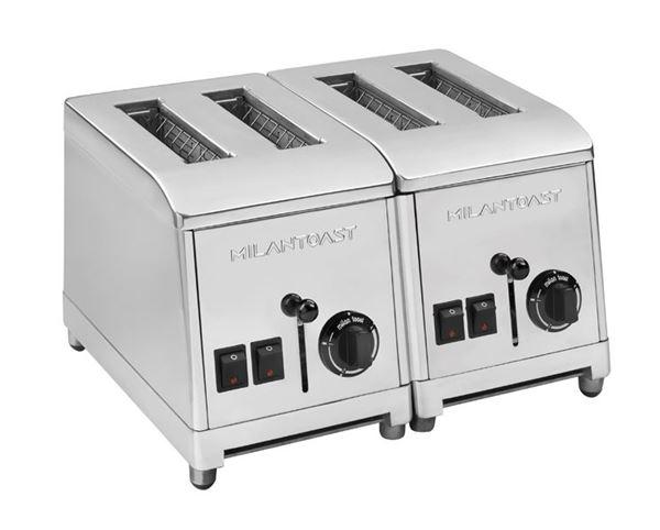 Εικόνα της Φρυγανιέρα με 4 υποδοχές για 160 φέτες/ ώρα, Milan Toast
