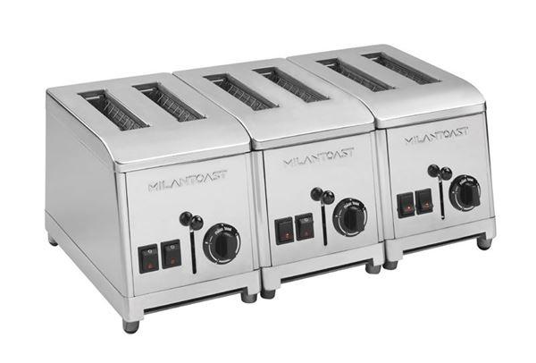 Εικόνα της Φρυγανιέρα με 6 υποδοχές για 240 φέτες/ ώρα, Milan Toast