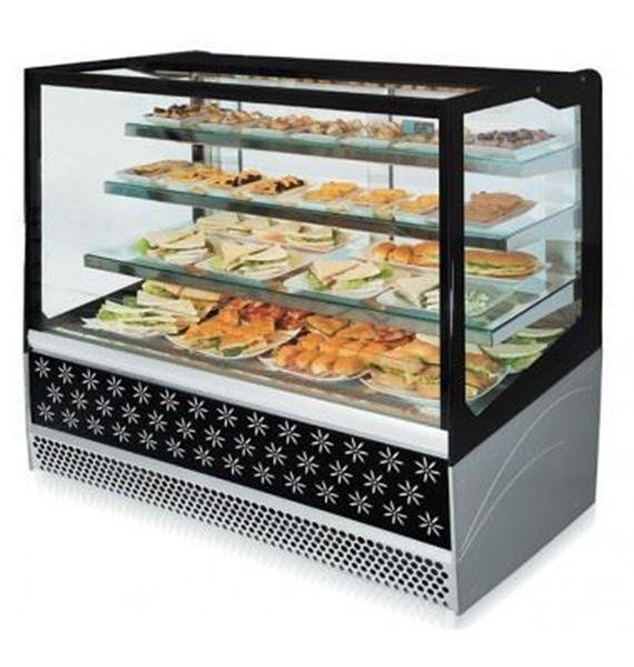 Εικόνα της Ψυγείο Βιτρίνα Self Service Συντήρηση, 130.5 cm