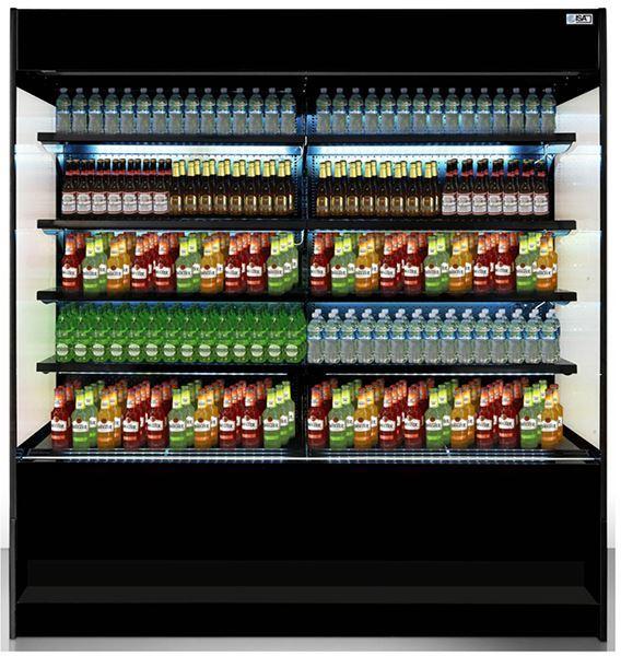 Εικόνα της Ψυγείο Βιτρίνα Self Service Συντήρηση, 99.5 cm