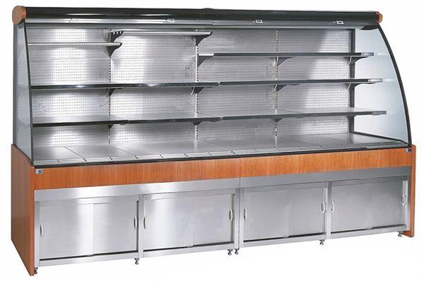Εικόνα της Ψυγείο Self Service Τοίχου Συντήρηση με αποθήκη, 261.5 cm