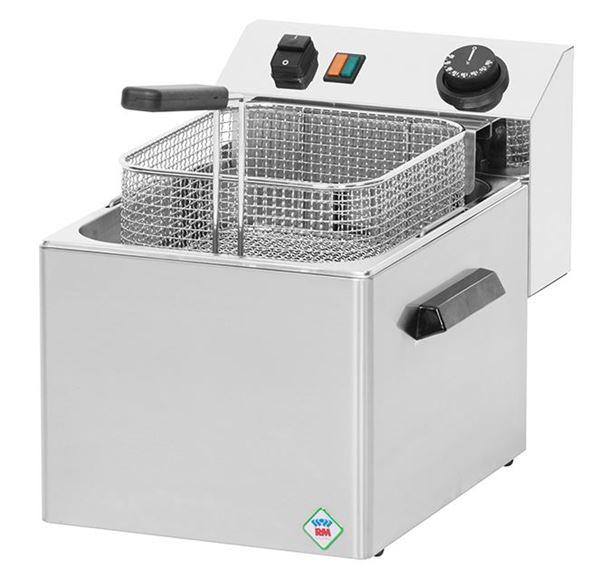 Εικόνα της Φριτέζα Ηλεκτρική Επιτραπέζια Μονή 8 lt 400 V, FE08T