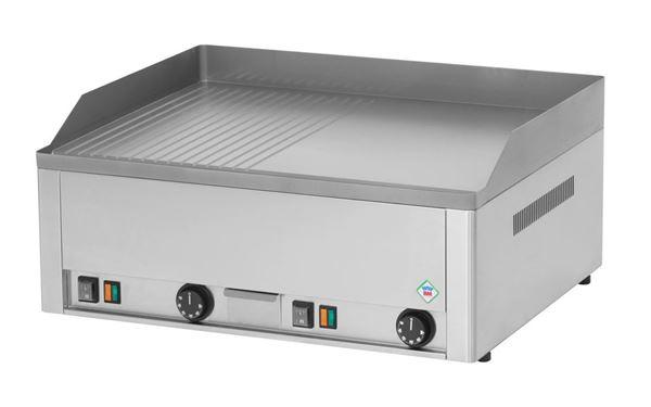 Εικόνα της Πλατώ Ηλεκτρικό Διπλό με Λεία- Ραβδωτή Πλάκα 65x48 cm, Red Fox