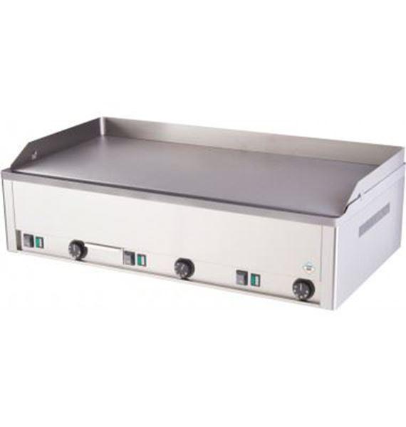 Εικόνα της Πλατώ Ηλεκτρικό Τριπλό με Λεία Πλάκα 97x48 cm, Red Fox