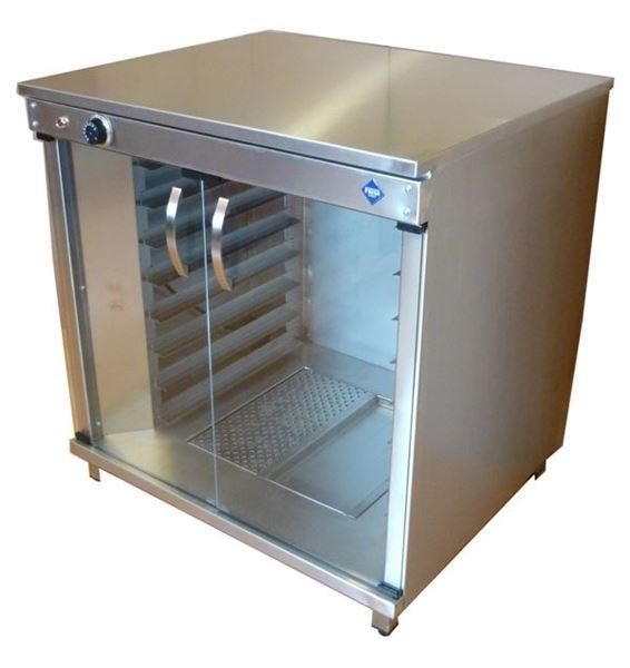 Εικόνα της Στόφα φούρνου - Θερμοθάλαμος με 2 Πόρτες,  για 8 λαμαρίνες 60x40