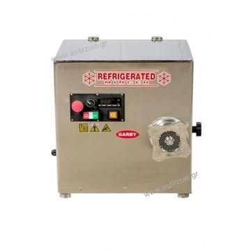 Εικόνα της Κρεατομηχανή ψυχώμενη γωνιακή, 22άρα, 2 hp 230 V, για 180 kgr/h