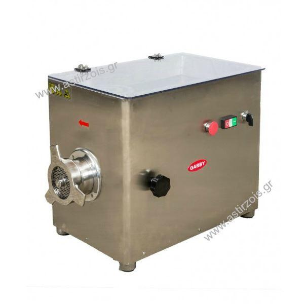 Εικόνα της Κρεατομηχανή, με προκόπτη, 32άρα, 4 hp, για 450 kgr/h
