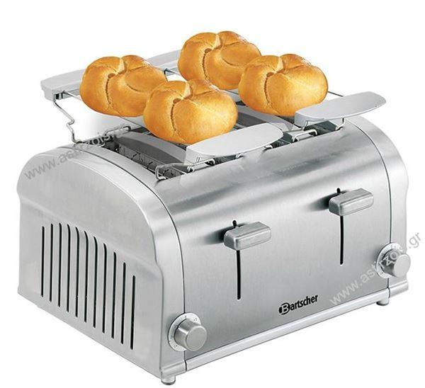 Εικόνα της Φρυγανιέρα με 4 υποδοχές Toaster TS40, Bartscher