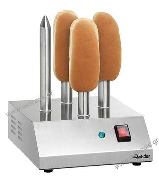 Εικόνα της Μηχανή με 4 υποδοχές για ψωμάκια Hot Dog, Bartscher