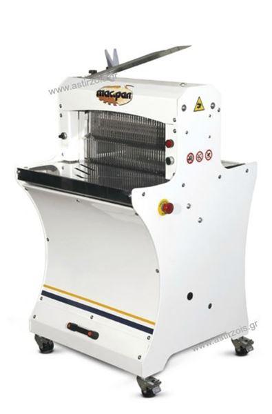 Εικόνα της Κόπτης Ψωμιού σε φέτες Αυτόματος Επιδαπέδιος, MPTA400L Mac Pan
