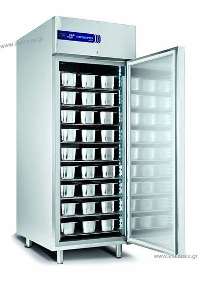 Εικόνα της Ψυγείο Θάλαμος Κατάψυξη παγωτού -12/ -25 oC με 1 Πόρτα και Ψυκτικό Μηχάνημα GL 800 BTG, SAMAREF