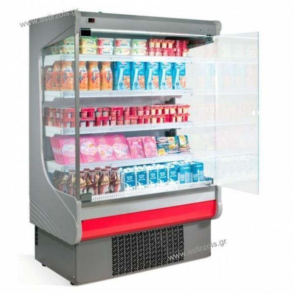 Εικόνα της Ψυγείο Self Service Συντήρηση με Ψυκτικό Μηχάνημα με 4 ράφια 133 cm, EML 12 INFRICO