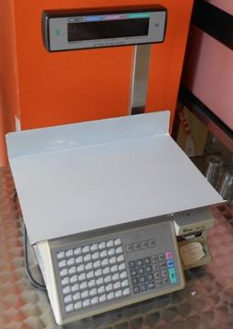 Εικόνα της Ζυγός Ετικέτας με κολόνα 30 kg Digi