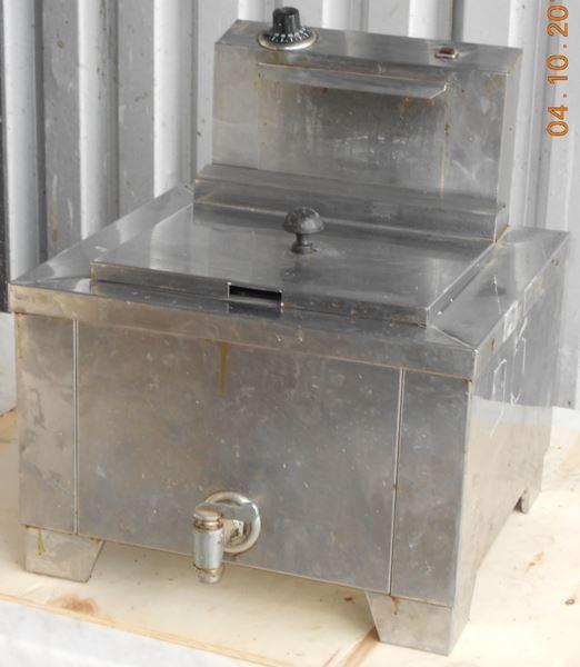 Εικόνα της Φριτέζα Ηλεκτρική Μονή με κάνουλα μεταχειρισμένη