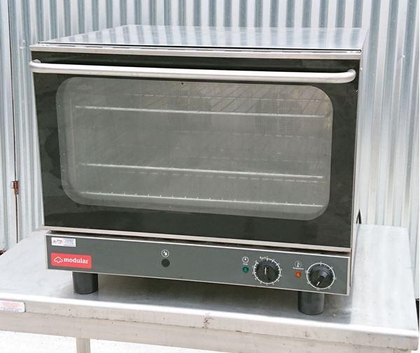 Εικόνα της Φούρνος ηλεκτρικός κυκλοθερμικός με υγρασία 4 λαμαρίνες 60x40, μεταχειρισμένος