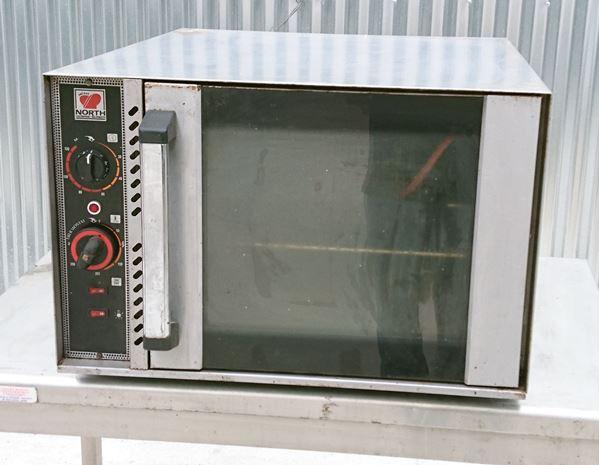 Εικόνα της Φούρνος αέρος ηλεκτρικός, για 4 ταψιά GN 1/1x4.5 ή 2 ταψιά GN 1/1x6.5 ή 4 λαμαρίνες 40x60 cm, North μεταχειρισμένος
