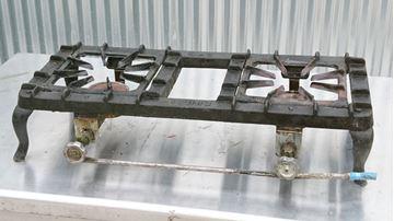 Εικόνα της Πετρογκάζ υγραερίου μαντεμένιο 2 εστίες, μεταχειρισμένο